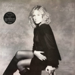 Barbra Streisand - Till I Loved You (LP) (EX/VG+)